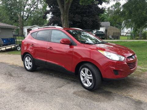 2010 Hyundai Tucson for sale at Antique Motors in Plymouth IN