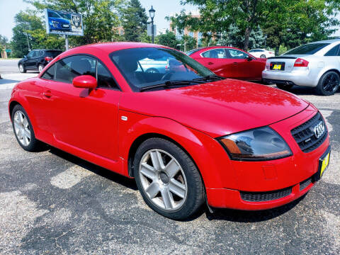2003 Audi TT for sale at J & M PRECISION AUTOMOTIVE, INC in Fort Collins CO