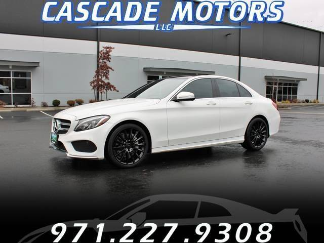 2015 Mercedes-Benz C-Class for sale at Cascade Motors in Portland OR