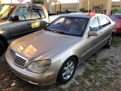 2001 Mercedes-Benz S-Class for sale at Castagna Auto Sales LLC in Saint Augustine FL