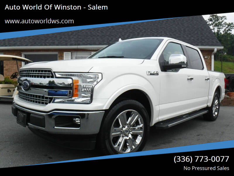 2018 Ford F-150 for sale at Auto World Of Winston - Salem in Winston Salem NC
