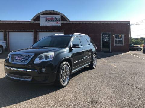 2012 GMC Acadia for sale at Family Auto Finance OKC LLC in Oklahoma City OK