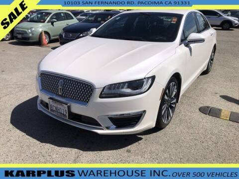 2018 Lincoln MKZ Hybrid for sale at Karplus Warehouse in Pacoima CA