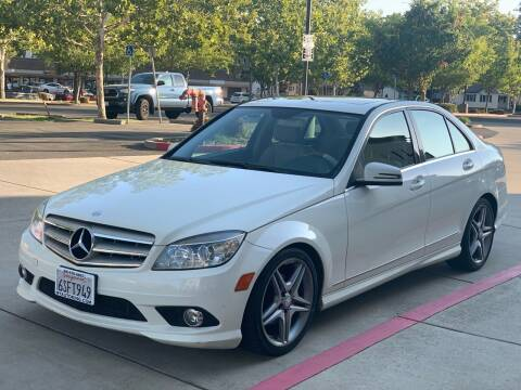 2010 Mercedes-Benz C-Class for sale at Auto King in Roseville CA