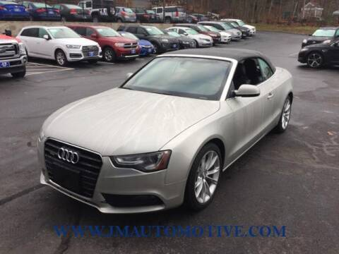 2013 Audi A5 for sale at J & M Automotive in Naugatuck CT