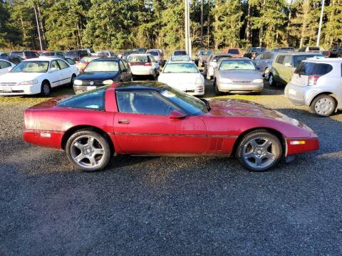 1989 Chevrolet Corvette for sale at WILSON MOTORS in Spanaway WA
