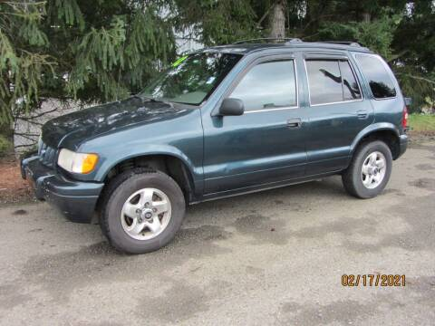 2002 Kia Sportage for sale at B & C Northwest Auto Sales in Olympia WA