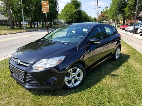 2013 Ford Focus for sale at RBM AUTO BROKERS in Alsip IL