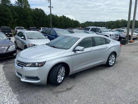 2016 Chevrolet Impala for sale at Billy Ballew Motorsports in Dawsonville GA