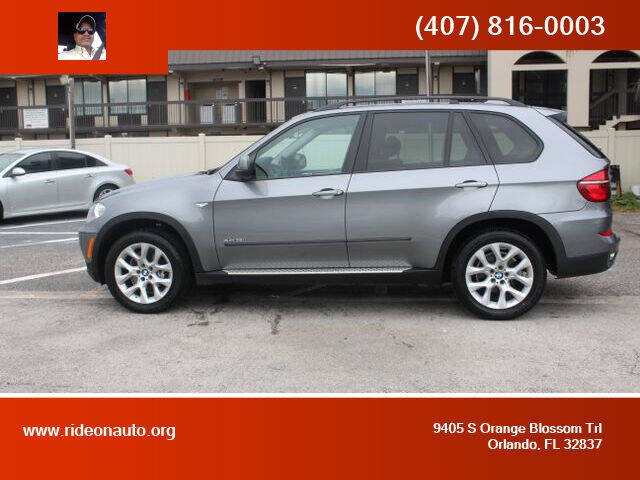 2013 BMW X5 for sale at Ride On Auto in Orlando FL