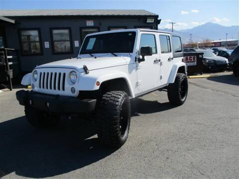 2016 Jeep Wrangler Unlimited for sale at Central Auto in South Salt Lake UT