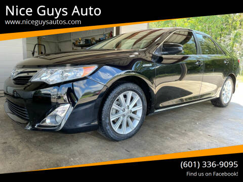 2012 Toyota Camry Hybrid for sale at Nice Guys Auto in Hattiesburg MS