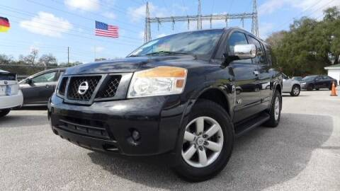 2009 Nissan Armada for sale at Das Autohaus Quality Used Cars in Clearwater FL