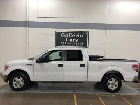 2014 Ford F-150 for sale at Galleria Cars in Dallas TX
