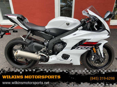 2019 Yamaha YZF-R6 for sale at WILKINS MOTORSPORTS in Brewster NY