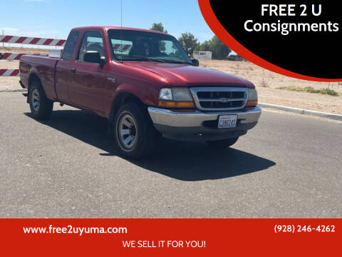 2000 Ford Ranger for sale at FREE 2 U Consignments in Yuma AZ