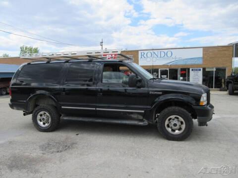 2003 Ford Excursion for sale at Rondo Truck & Trailer in Sycamore IL