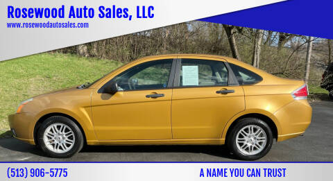 2009 Ford Focus for sale at Rosewood Auto Sales, LLC in Hamilton OH