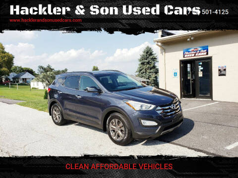 2013 Hyundai Santa Fe Sport for sale at Hackler & Son Used Cars in Red Lion PA