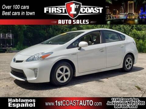 2014 Toyota Prius for sale at 1st Coast Auto -Cassat Avenue in Jacksonville FL