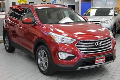 2016 Hyundai Santa Fe for sale at Windy City Motors in Chicago IL