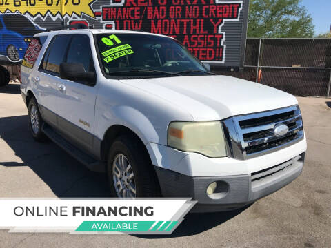 2007 Ford Expedition for sale at Rock Star Auto Sales in Las Vegas NV
