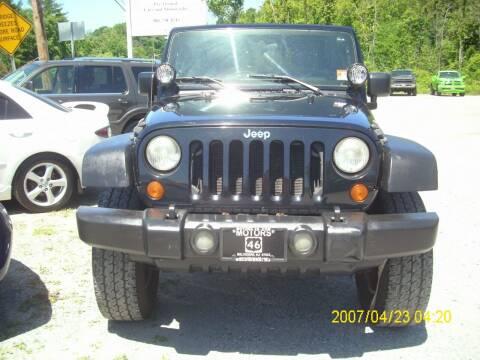 2007 Jeep Wrangler for sale at Motors 46 in Belvidere NJ