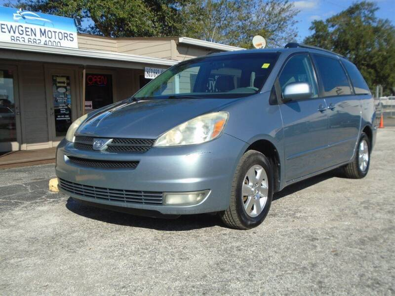 2004 Toyota Sienna for sale at New Gen Motors in Lakeland FL