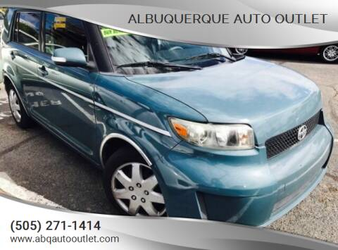 2008 Scion xB for sale at ALBUQUERQUE AUTO OUTLET in Albuquerque NM