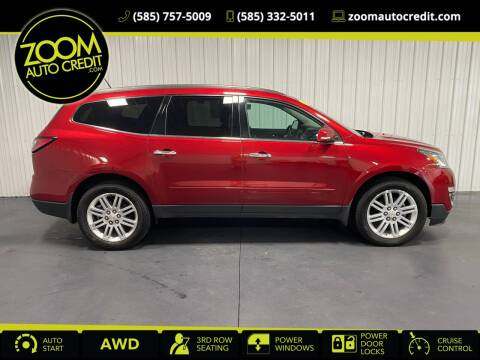 2014 Chevrolet Traverse for sale at ZoomAutoCredit.com in Elba NY