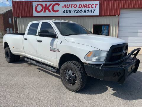 2013 RAM Ram Pickup 3500 for sale at OKC Auto Direct in Oklahoma City OK