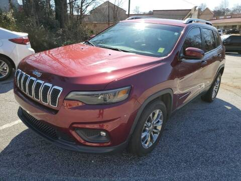 2019 Jeep Cherokee for sale at THE TRAIN AUTO SALES & LEASING in Mauldin SC