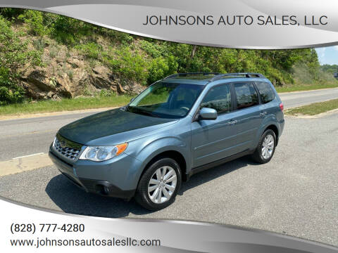 2013 Subaru Forester for sale at Johnsons Auto Sales, LLC in Marshall NC
