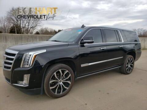 2017 Cadillac Escalade ESV for sale at BOB HART CHEVROLET in Vinita OK