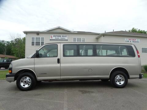 2003 GMC Savana Passenger for sale at SOUTHERN SELECT AUTO SALES in Medina OH