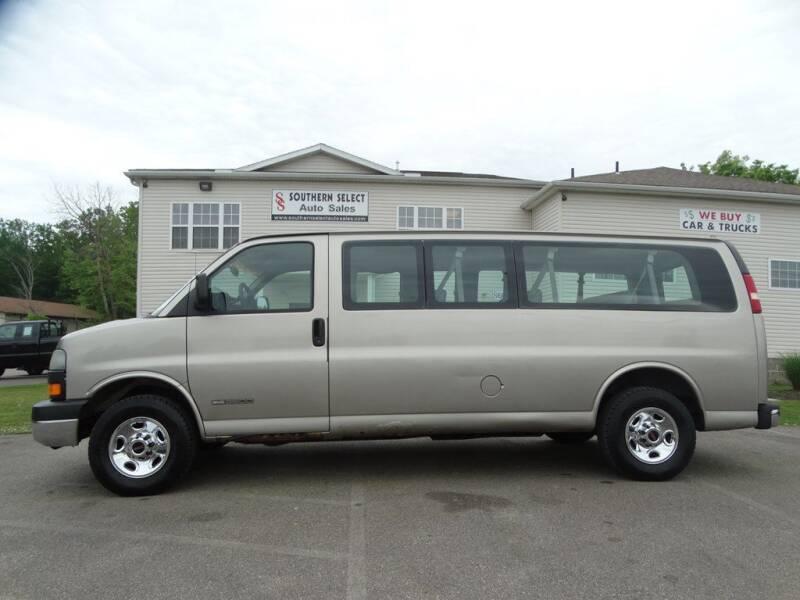 2003 GMC Savana Passenger for sale in Medina, OH