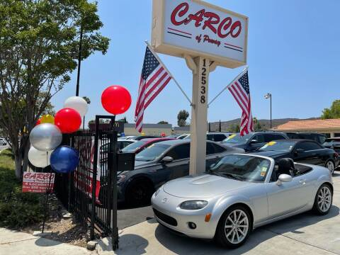 2008 Mazda MX-5 Miata for sale at CARCO SALES & FINANCE - CARCO OF POWAY in Poway CA