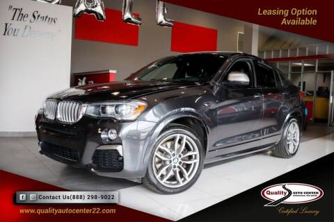 2018 BMW X4 for sale at Quality Auto Center in Springfield NJ