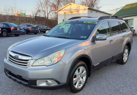 2010 Subaru Outback for sale at Bik's Auto Sales in Camp Hill PA
