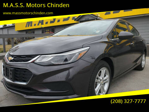 2017 Chevrolet Cruze for sale at M.A.S.S. Motors Chinden in Garden City ID