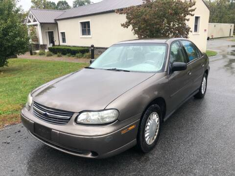 2002 Chevrolet Malibu for sale at Wallet Wise Wheels in Montgomery NY