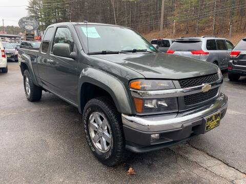 2010 Chevrolet Colorado for sale at Bladecki Auto in Belmont NH