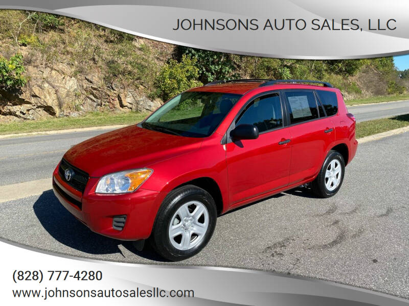 2012 Toyota RAV4 for sale at Johnsons Auto Sales, LLC in Marshall NC