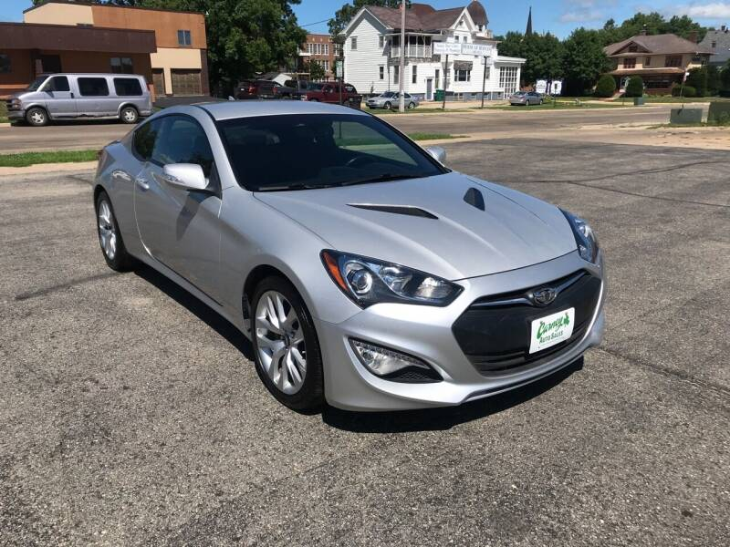 2016 Hyundai Genesis Coupe for sale at Carney Auto Sales in Austin MN