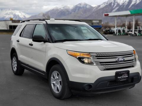 2012 Ford Explorer for sale at FRESH TREAD AUTO LLC in Springville UT