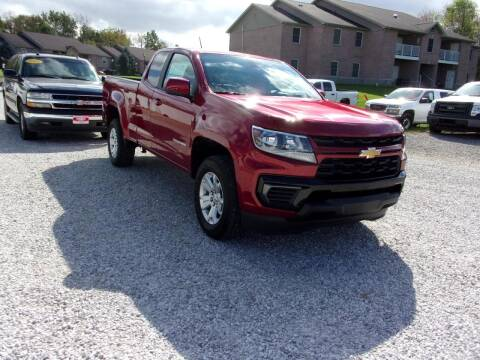 2022 Chevrolet Colorado for sale at BABCOCK MOTORS INC in Orleans IN