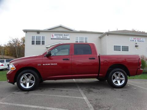 2012 RAM Ram Pickup 1500 for sale at SOUTHERN SELECT AUTO SALES in Medina OH