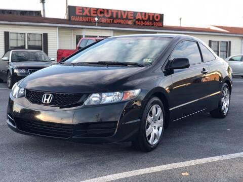 2011 Honda Civic for sale at Executive Auto in Winchester VA