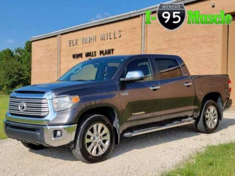 2015 Toyota Tundra for sale at I-95 Muscle in Hope Mills NC