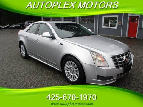 2013 Cadillac CTS for sale at Autoplex Motors in Lynnwood WA
